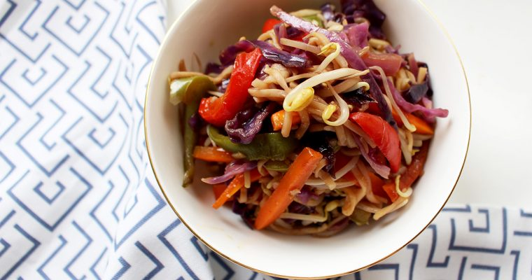 Red Cabbage Stir Fry